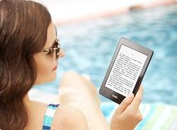 KIndle Paperwhite - Lesevergnügen am Strand und Unterwegs